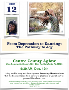 Centre County Aglow Flyer - 12/12/20